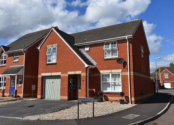 Thumbnail 4 bed detached house for sale in Knights Crescent, Clyst Heath, Exeter