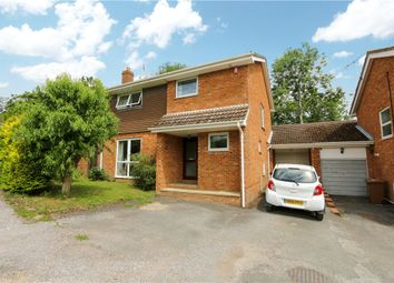 Thumbnail 4 bed detached house for sale in Barnes Close, West Wellow, Romsey, Hampshire