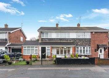 Thumbnail 3 bedroom semi-detached house for sale in Bentley Lane, Reedswood, Walsall