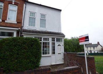 Thumbnail 3 bedroom end terrace house for sale in Mansel Road, Sparkbrook, West Midlands, Birmingham