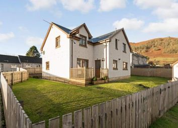 Thumbnail 4 bedroom detached house for sale in Stewart Road, Killin, Stirlingshire