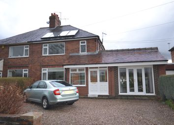 Thumbnail 4 bed semi-detached house for sale in Mill Lane, Wrinehill, Nr .Crewe