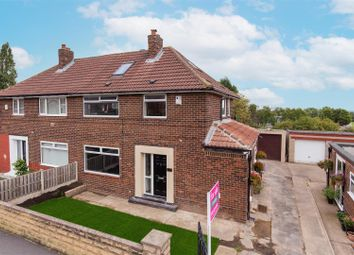 Thumbnail 4 bed semi-detached house for sale in Cranmore Rise, Leeds