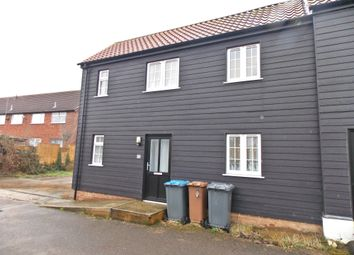 Thumbnail 1 bed end terrace house to rent in Church Lane, Felixstowe