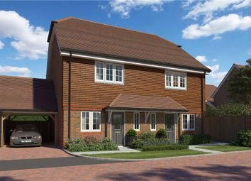 Thumbnail 3 bed semi-detached house for sale in Princess Marina Drive, Arborfield Green, Reading