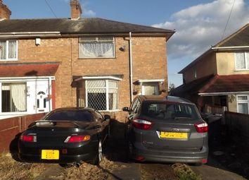 Thumbnail 3 bed end terrace house for sale in Ellerton Road, Kingstanding, Birmingham
