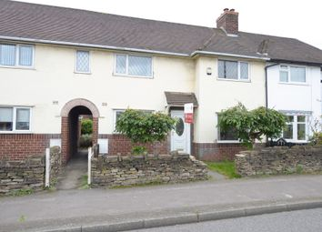 Thumbnail 3 bed terraced house for sale in St. Leonards Drive, Hasland, Chesterfield
