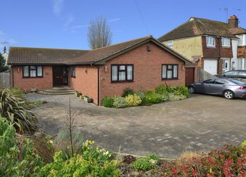 Thumbnail 3 bed detached bungalow for sale in Reculver Road, Herne Bay