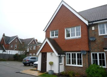 Thumbnail 3 bed end terrace house to rent in The Tithe, Ifield, Crawley