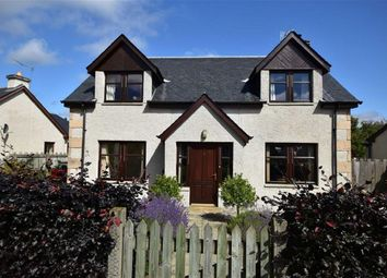 Thumbnail 4 bed detached house for sale in Woodburn Drive, Grantown-On-Spey