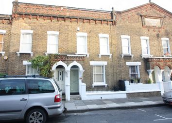 Thumbnail 3 bed terraced house to rent in Tyneham Road, London