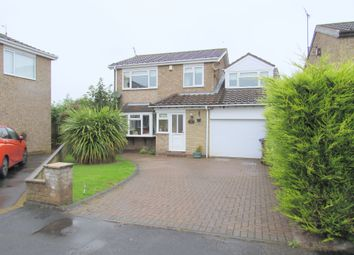 Thumbnail 4 bed detached house for sale in Kingswood Road, Cramlington