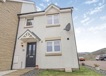 Thumbnail 3 bed end terrace house for sale in 26 Corby Craig Avenue, Roslin