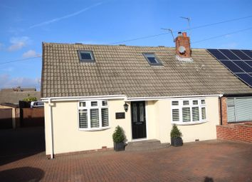 Thumbnail 2 bed semi-detached bungalow for sale in East Boldon Road, Cleadon, Sunderland