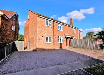 Thumbnail 4 bed semi-detached house for sale in Church Street, Haconby, Bourne