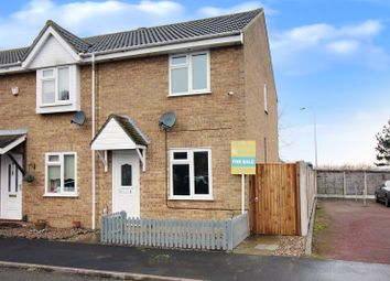 Thumbnail 2 bed end terrace house for sale in Wight Drive, Caister-On-Sea, Great Yarmouth