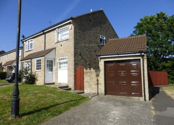 Thumbnail 2 bed semi-detached house for sale in Broadleaze, Yeovil