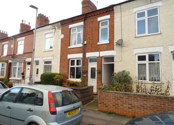 Thumbnail 3 bed terraced house for sale in Fairfield Road, Hugglescote, Leicestershire