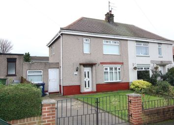 Thumbnail 2 bed semi-detached house for sale in Barnaby Crescent, Eston, Middlesbrough