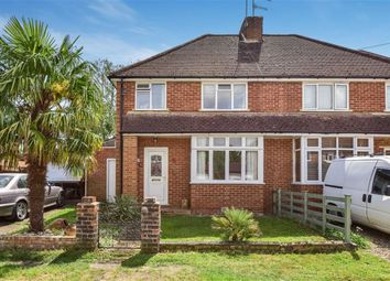 Thumbnail 3 bedroom semi-detached house for sale in Liddington New Road, Worplesdon, Guildford