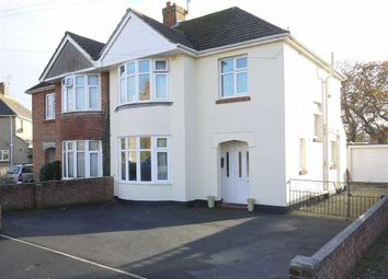 Thumbnail 3 bedroom semi-detached house for sale in Lancaster Road, Weymouth