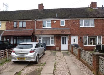 Thumbnail 3 bedroom terraced house for sale in Carisbrooke Road, Wednesbury