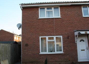 Thumbnail 2 bed end terrace house to rent in Hayward Close, Clevedon`
