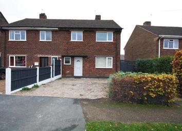 Thumbnail 3 bed semi-detached house for sale in Buckminster Road, Ilkeston
