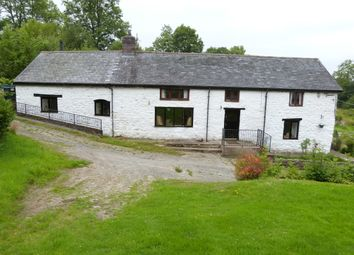 Thumbnail 4 bed farmhouse for sale in Carno, Caersws