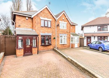 Thumbnail 3 bed semi-detached house for sale in Dickinson Drive, Walsall