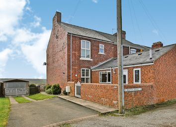 Thumbnail 2 bed end terrace house for sale in Brighton Terrace, Sherburn Hill, Durham, Durham