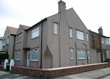 Thumbnail 2 bed maisonette to rent in Rullerton Road, Wallasey, Wirral