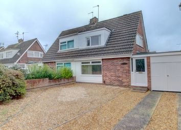 Thumbnail 2 bed semi-detached house for sale in Woodhurst Road, Stanground, Peterborough