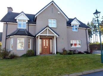 Thumbnail 4 bed detached house to rent in Crathes, Banchory