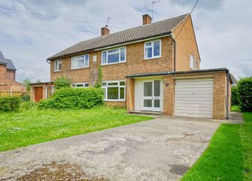 Thumbnail 3 bed semi-detached house for sale in Church Street, Holme, Peterborough