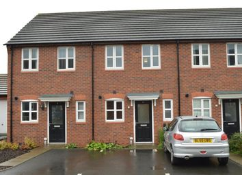 Thumbnail 2 bed terraced house to rent in Jersey Close, Stoke Village, Coventry