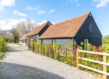 Thumbnail 4 bed barn conversion for sale in Whitehouse Farm Barns, Mill Green Road, Mill Green, Ingatestone