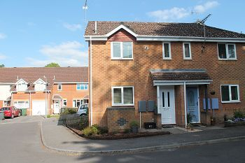 Thumbnail 1 bed semi-detached house to rent in Grenadier Close, Warminster