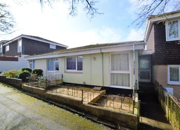 Thumbnail 2 bed semi-detached bungalow for sale in Downfield Drive, Plymouth, Devon