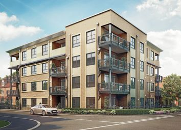 Thumbnail 2 bed flat for sale in Sanderson Manor, Church Road, Hauxton, Cambridge