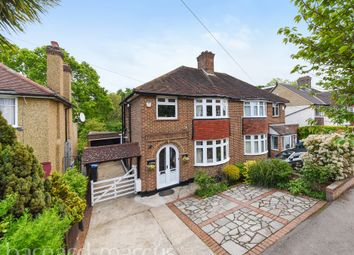 Thumbnail 3 bedroom semi-detached house for sale in Elmbridge Avenue, Berrylands, Surbiton