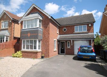 Thumbnail 4 bed detached house for sale in Manor Road, Willington, Crook