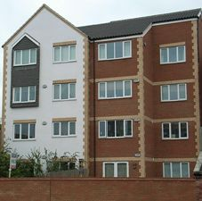 Thumbnail 1 bed flat to rent in Franklin Point, Northampton