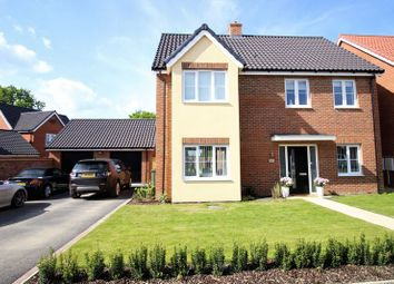 Thumbnail 5 bedroom detached house for sale in Horseshoe Road, Hethersett, Norwich