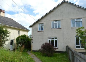 Thumbnail 3 bed semi-detached house for sale in Sunnyside, Awliscombe, Honiton, Devon