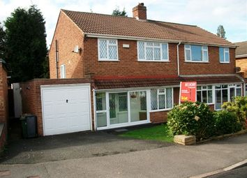 Thumbnail 3 bed semi-detached house to rent in Hazelwood Road, Streetly, Sutton Coldfield