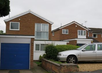Thumbnail 3 bed detached house for sale in Derwent Close, Earl Shilton, Leicester