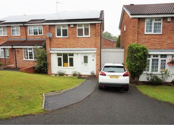 Thumbnail 3 bed link-detached house for sale in Crabtree Close, Birmingham