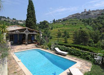 Thumbnail 4 bed property for sale in Saint Paul, Alpes Maritimes, Provence Alpes Cote D'azur, 06570
