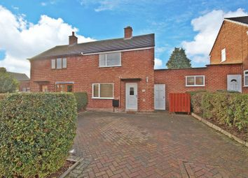 Thumbnail 2 bed semi-detached house for sale in Edwin Crescent, Bromsgrove